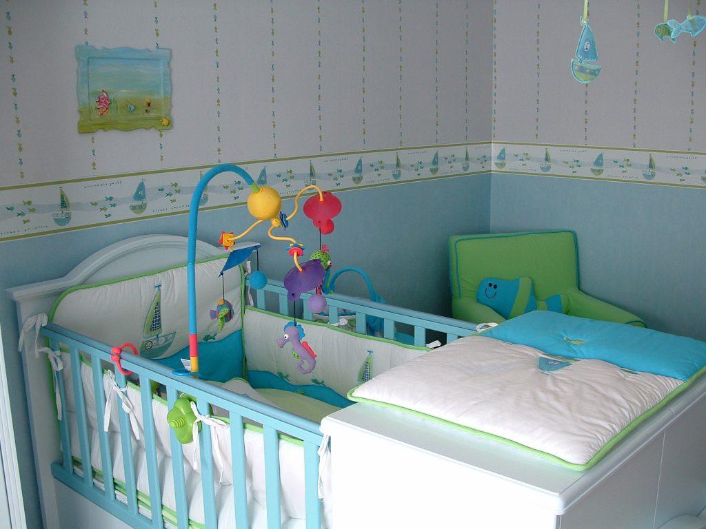 Kako boste izbrali dojenčkovo sobo
